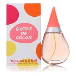 Agatha Ruiz De La Prada Gotas De Color Perfume by Agatha Ruiz De La Prada 3.4 oz Eau De Toilette Spray
