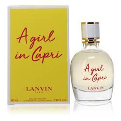 A Girl In Capri Perfume by Lanvin 3 oz Eau De Toilette Spray