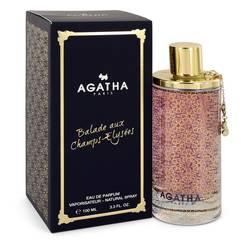 Agatha Balade Aux Champs Elysees Perfume by Agatha Paris 3.3 oz Eau De Parfum Spray