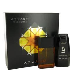 Azzaro Cologne by Azzaro -- Gift Set - 3.4 oz Eau De Toilette Spray + 5 oz Hair & Body Shampoo
