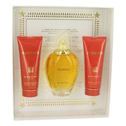 Amarige Perfume by Givenchy -- Gift Set - 3.3 oz Eau De Toilette Spray + 2.5 oz Body Lotion + 2.5 oz Bath Gel