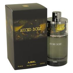Accord Boise Cologne by Ajmal, 75 ml Eau De Parfum Spray for Men