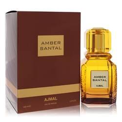 Ajmal Amber Santal Perfume by Ajmal 3.4 oz Eau De Parfum Spray (Unisex)