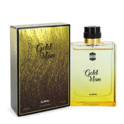Ajmal Gold Cologne by Ajmal 3.4 oz Eau De Parfum Spray