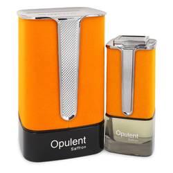 Al Haramain Opulent Saffron Cologne by Al Haramain 3.3 oz Eau De Parfum Spray (Unisex)