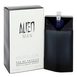 Alien Man Cologne by Thierry Mugler 3.4 oz Eau De Toilette Refillable Spray