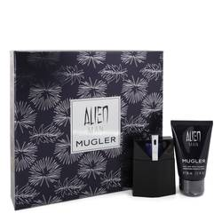 Alien Man Cologne by Thierry Mugler -- Gift Set - 1.7 oz Eau De Toilette Spray Refillable 1.7 oz Hair & Body Shampoo