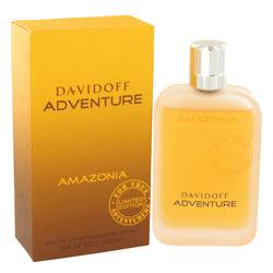Davidoff Adventure Amazonia Cologne by Davidoff 3.4 oz Eau De Toilette Spray