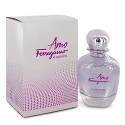 Amo Flowerful Perfume by Salvatore Ferragamo 3.4 oz Eau De Toilette Spray