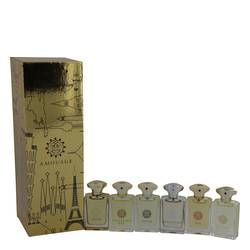 Amouage Gold Cologne by Amouage -- Gift Set - Deluxe Amouage Set Includes Gold, Dia, Silver, Reflection, Jubilation XXV and Beloved all 0.3 oz Mini's