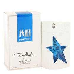 Angel Pure Shot Cologne by Thierry Mugler 3.4 oz Eau De Toilette Spray