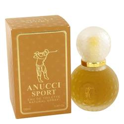 Anucci Sport Cologne by Anucci 3.4 oz Eau De Toilette Spray