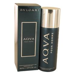 Aqua Pour Homme Cologne by Bvlgari 5 oz Body Spray