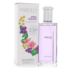 April Violets Perfume by Yardley London 4.2 oz Eau De Toilette Spray