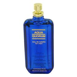 Aqua Quorum Cologne by Antonio Puig 3.4 oz Eau De Toilette Spray (Tester)