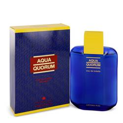 Aqua Quorum Cologne by Antonio Puig 3.4 oz Eau De Toilette