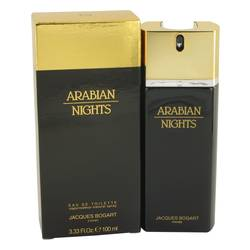 Arabian Nights Cologne by Jacques Bogart, 3.4 oz Eau De Toilette Spray for Men