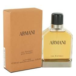 Armani Eau D'aromes Cologne by Giorgio Armani 3.4 oz Eau De Toilette Spray