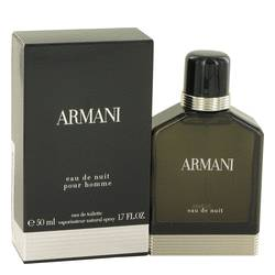 Armani Eau De Nuit Cologne by Giorgio Armani 1.7 oz Eau De Toilette Spray