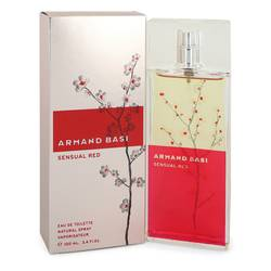 Armand Basi Sensual Red Perfume by Armand Basi 3.4 oz Eau De Toilette Spray