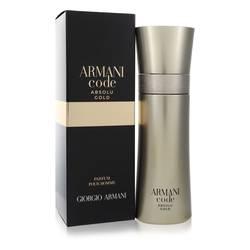 Armani Code Absolu Gold Cologne by Giorgio Armani 2 oz Eau De Parfum Spray