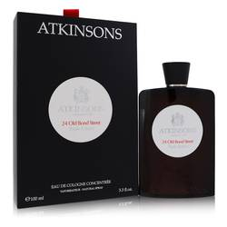 24 Old Bond Street Triple Extract Cologne by Atkinsons, 100 ml Eau De Cologne Concentree Spray for Men
