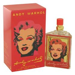 Andy Warhol Marilyn Red Perfume by Andy Warhol 1 oz Eau De Toilette Spray