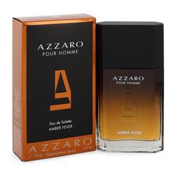 Azzaro Amber Fever Cologne by Azzaro 3.4 oz Eau De Toilette Spray