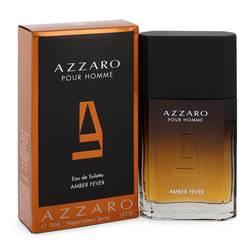Azzaro Amber Fever Cologne by Azzaro 3.4 oz Eau De Toilette Spray