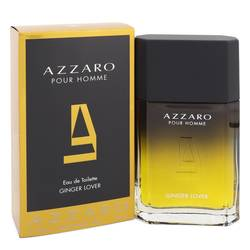Azzaro Ginger Love Cologne by Azzaro 3.4 oz Eau De Toilette Spray
