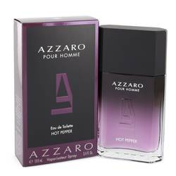 Azzaro Hot Pepper Cologne by Azzaro 3.4 oz Eau De Toilette Spray