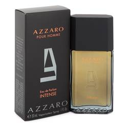 Azzaro Intense Cologne by Azzaro 1 oz Eau De Parfum Spray