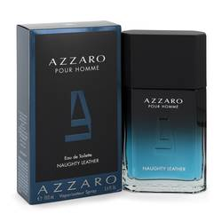 Azzaro Naughty Leather Cologne by Azzaro 3.4 oz Eau De Toilette Spray