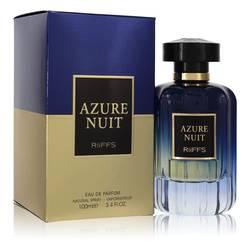 Azure Nuit Cologne by Riiffs 3.4 oz Eau De Parfum Spray