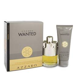 Azzaro Wanted Cologne by Azzaro -- Gift Set - 3.4 oz Eau De Toilette Spray + 3.4 oz Shower Gel