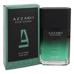 Azzaro Wild Mint Cologne by Azzaro 3.4 oz Eau De Toilette Spray