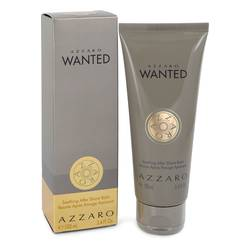 Azzaro Wanted Cologne by Azzaro 3.4 oz After Shave Balm