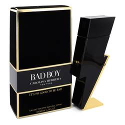 Bad Boy Cologne by Carolina Herrera 1.7 oz Eau De Toilette Spray