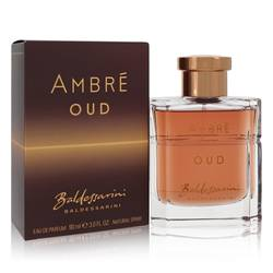 Baldessarini Ambre Oud Cologne by Hugo Boss 3 oz Eau De Parfum Spray