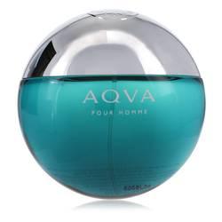Aqua Pour Homme Cologne by Bvlgari 3.4 oz Eau De Toilette Spray (Tester)