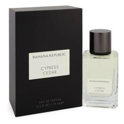 Banana Republic Cypress Cedar Perfume by Banana Republic 2.5 oz Eau De Parfum Spray (Unisex)