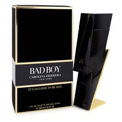 Bad Boy Cologne by Carolina Herrera 3.4 oz Eau De Toilette Spray