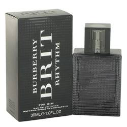 Burberry Brit Rhythm Cologne by Burberry 1 oz Eau De Toilette Spray