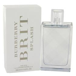 Burberry Brit Splash Cologne by Burberry 3.4 oz Eau De Toilette Spray