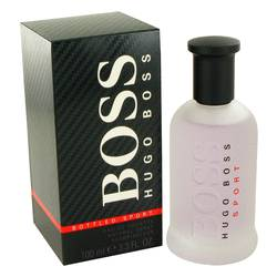 Boss Bottled Sport Cologne by Hugo Boss 3.3 oz Eau De Toilette Spray