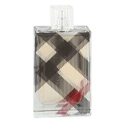 Burberry Brit Perfume by Burberry 3.4 oz Eau De Parfum Spray (Tester)