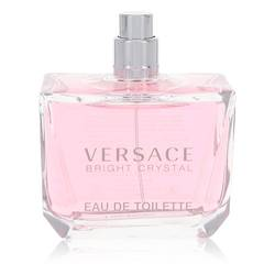 Bright Crystal Perfume by Versace 3 oz Eau De Toilette Spray (Tester)