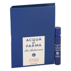 Blu Mediterraneo Arancia Di Capri Perfume by Acqua Di Parma 0.04 oz Vial (sample)