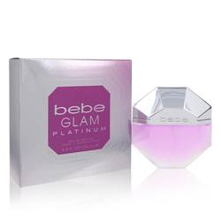 Bebe Glam Platinum Perfume by Bebe, 3.4 oz Eau De Parfum Spray for Women