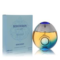 Boucheron Eau Legere Perfume by Boucheron, 3.3 oz Eau De Toilette Spray (Blue Bottle, Bergamote, Genet, Narcisse, Musc) for Women